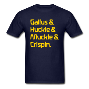Gallus & Huckle & Muckle & Crispin
